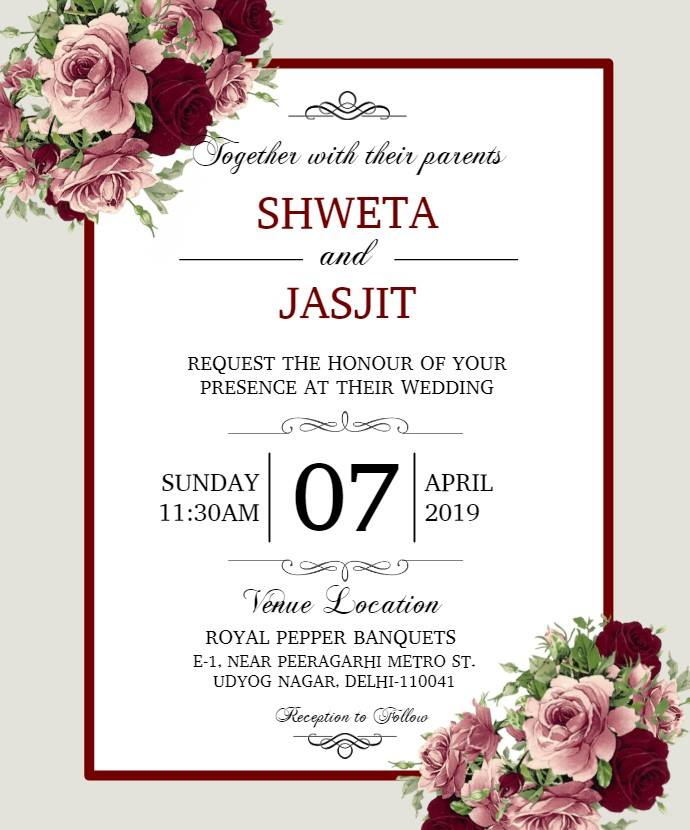 E-Invitation Cards