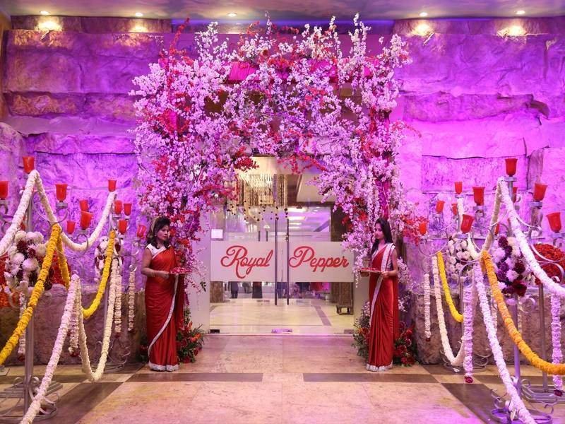 wedding decor entrance gate