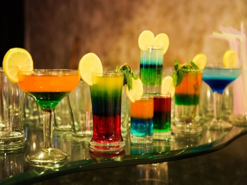 wedding mocktails stalls
